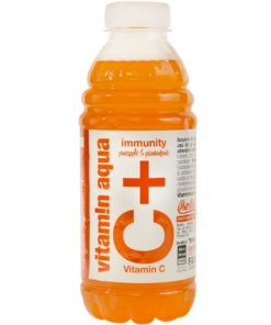 Vitamin Aqua C+ Immunity Fructul pasiunii 600ml