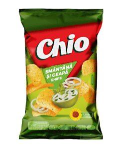 Chio Chips cu gust de smantana si ceapa 140 grame