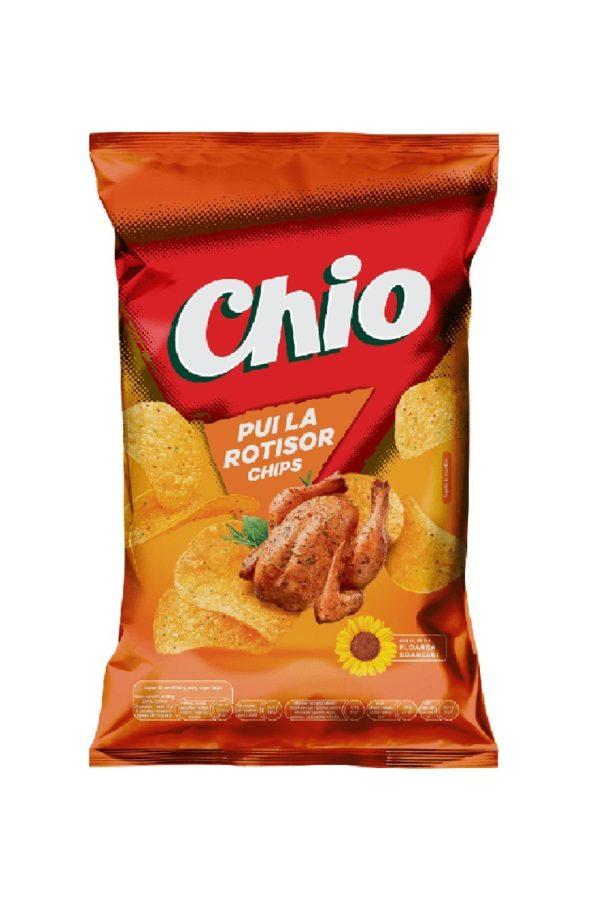 Chio Chips cu aroma de pui la rotisor 140 grame