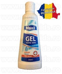 MAXIL GEL Dezinfectant maini cu glicerina 70% alcool 250 ml