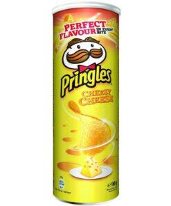 Pringles Cheese chips cu gust de branza 165 g