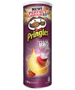 Pringles Texas Barbeque Sauce chipsuri cu sos 165 g