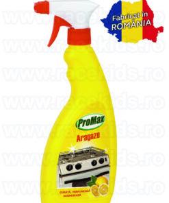 PROMAX Solutie curatare aragaze cu parfum de lamaie 500 ml