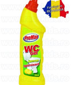 PROMAX WC Gel Lemon Igienizant WC parfum lamaie 750 ml