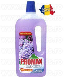 PROMAX Floral Liliac Solutie curatare gresie si faianta Alcool 1.5 litri