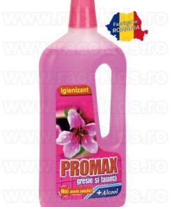 PROMAX Floral Orhidee Solutie curatare gresie si faianta Alcool 1.5 litri