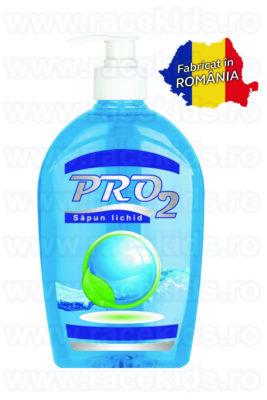PRO2 Sapun lichid maini cu pompa Albastru 500 ml