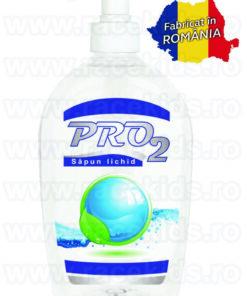 PRO2 Sapun lichid maini cu pompa Alb 500 ml