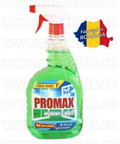 PROMAX Windows & Glass Solutie curatare alcool Mar 1 litru