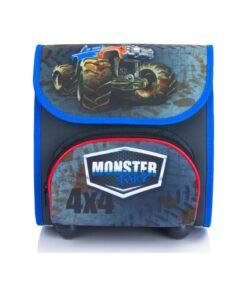 Ghiozdan cu masina Monster Truck 23 cm