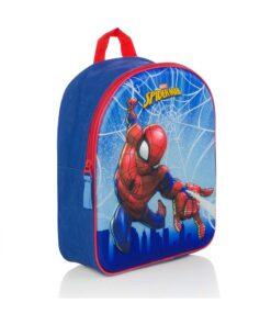 Ghiozdan Spiderman Web 3D 31 cm