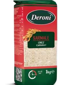 Deroni Orez cu bob rotund pentru sarmale 1kg