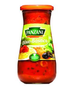 Panzani Sos OliveBasilico ideal pentru paste 400g