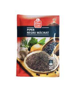 Piper negru macinat Fine Life 17 grame