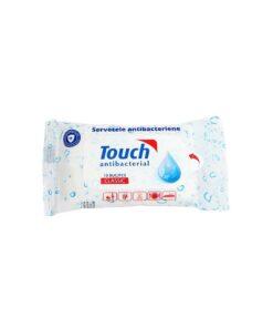 Servetele umede antibacteriene Touch