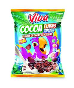 Viva Cereale cu fulgi de cacao 250g