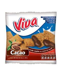Viva Pernite umplute cu crema de cacao 100g