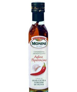 Ulei de masline extra virgin aromatizat cu usturoi si chilli 250 ml