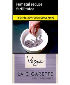 VOGUE BLEUE - Tigari La Cigarette, contin 20 tigarete