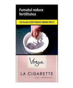 VOGUE LILAS - Tigari La Cigarette, contin 20 tigarete