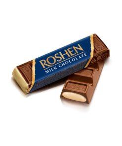 Baton de ciocolata cu lapte Roshen cu crema fondanta 43g