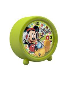 Ceas verde cu alarma Mickey Mouse