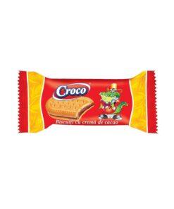 Croco Biscuiti cu crema de cacao 32g