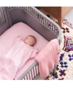 Paturica/pled roz bebe Nusco 75×100 cm Noppies