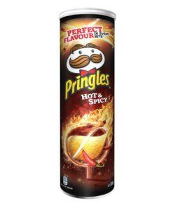 Pringles Hot&Spicy Iute si picant chipsuri 165 g