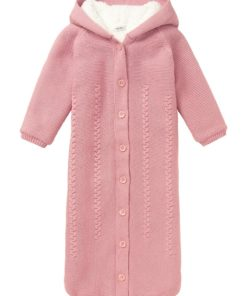 Sac roz de dormit tricotat Narni 80cm Noppies