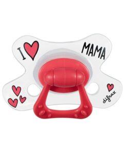 Suzete natural I Love Mama Difrax 12+ luni