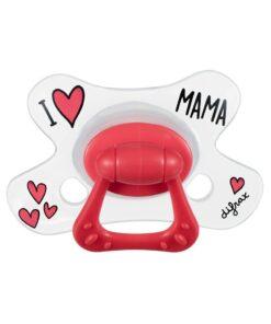 Suzete natural I Love Mama Difrax 18+luni