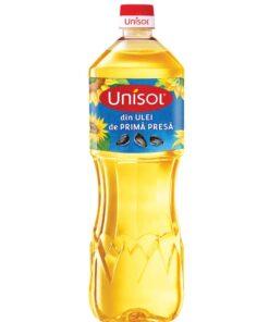 Ulei de floarea-soarelui Unisol 1 litru
