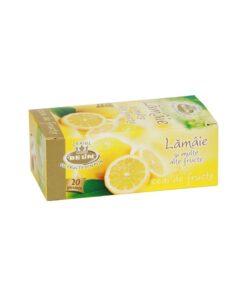 BELiN - Ceai lamaie si multe alte fructe, 20 pliculete