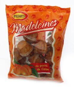Briose Madeleines cu pasta de caise 250g