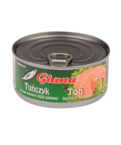 Conserva de ton bucati in suc propriu Giana 170g