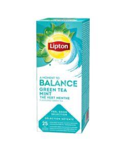 Lipton Ceai Balance Menta 25 pliculete