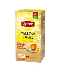 Lipton Ceai negru Yellow Label 25 pliculete