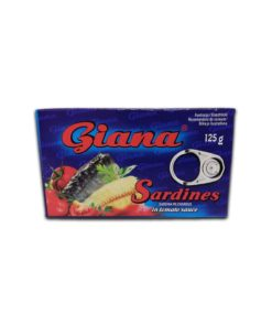 Conserva de sardine in sos de rosii Giana 125g