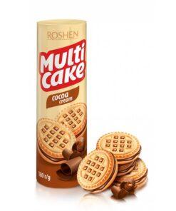 Roshen Multicake biscuiti cu umplutura de ciocolata 180g