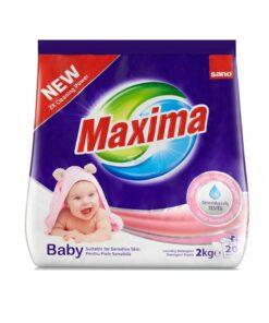 Detergent pudra Sano Maxima Baby 2kg 20 spalari