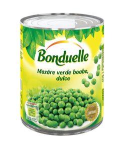 Mazare verde boabe dulce 800g Bonduelle
