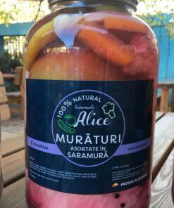 Muraturi asortate in saramura 4,250ml