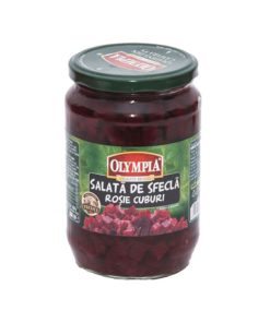 Salata de sfecla rosie cuburi Olympia 720 ml