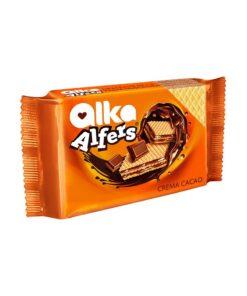 Alka Alfers - Napolitane cu crema de cacao 170g