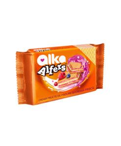 Alka Alfers - Napolitane cu crema de fructe de padure si crema de frisca 170g