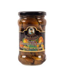 Ciuperci salbatice asortate in saramura dulce-acrisoara 280g