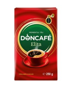 Doncafe Elita - Cafea prajita si macinata 250g