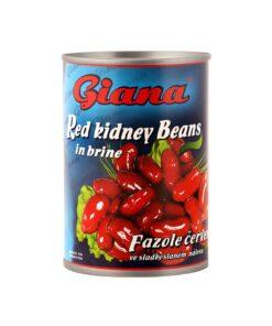 Giana - Fasole rosie Kidney in saramura 400 g