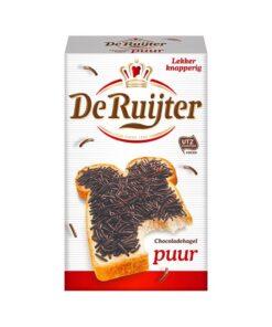 Fulgi de ciocolata PUUR De Ruijter - Olanda 380g